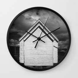 house sisters alone Wall Clock