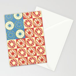 United Donuts of America Stationery Cards