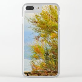 Close to the sea Clear iPhone Case