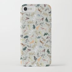 Marble Cats iPhone 7 Slim Case