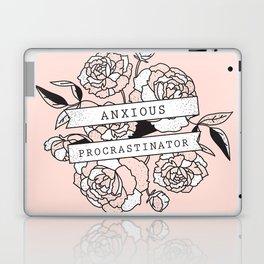 anxious procrastinator Laptop & iPad Skin