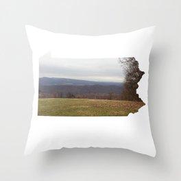 Pennsylvania ii Throw Pillow