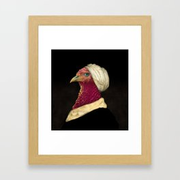 Funny Animal - Chicken Framed Art Print