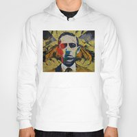 lovecraft Hoodies featuring Lovecraft by Michael Creese