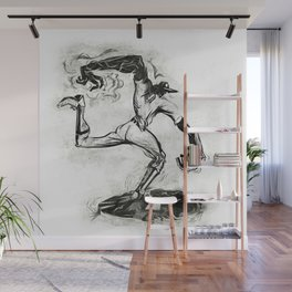 Wound-up: The Pitcher Wall Mural