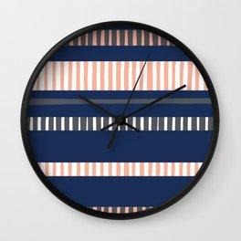 Stripey boy Wall Clock