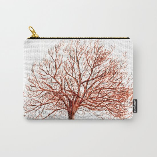 Lonely tree in autumn Carry-All Pouch