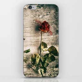 Dry Roses iPhone Skin