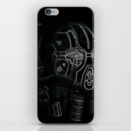 Glitchmask Zone iPhone Skin