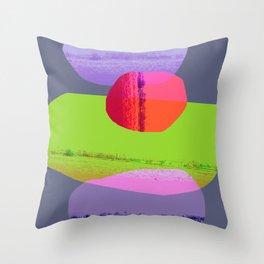 Balancing 3 Throw Pillow
