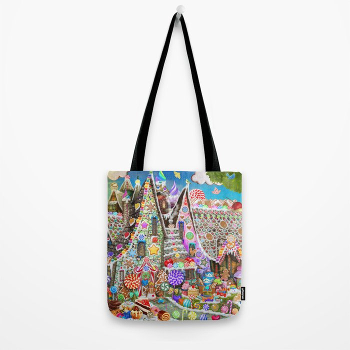 The Gingerbread Mansion Tote Bag