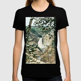 Yellowstone Falls in Yellowstone National Park Wyoming T-shirt