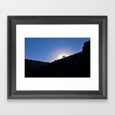 The Gap Framed Art Print