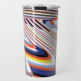 Over Lines Travel Mug