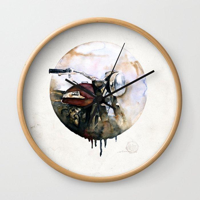 Norton Atlas Wall Clock