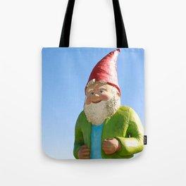 Giant Garden Gnome Tote Bag