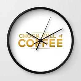 Chock Full of Coffee Wall Clock