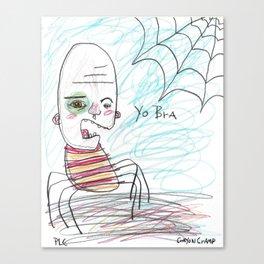 Yo Bra Canvas Print