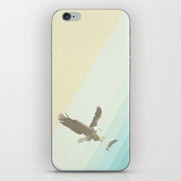 Eagle & Fish iPhone Skin