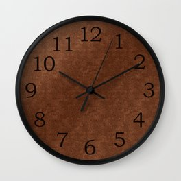 Old Copper Look Wall Clock
