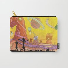 Rick and Morty - Silhouette Carry-All Pouch