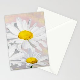 Dreaming of White Daisy Flowers Stationery Cards