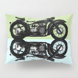 B M W Pillow Sham