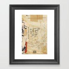 ə-ˈdik-shən Framed Art Print