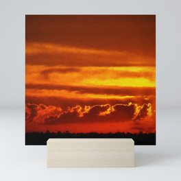 Sunset Layers | Ferntree Gully Mini Art Print