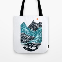 ABSTRACTED LANDSCAPE Tote Bag