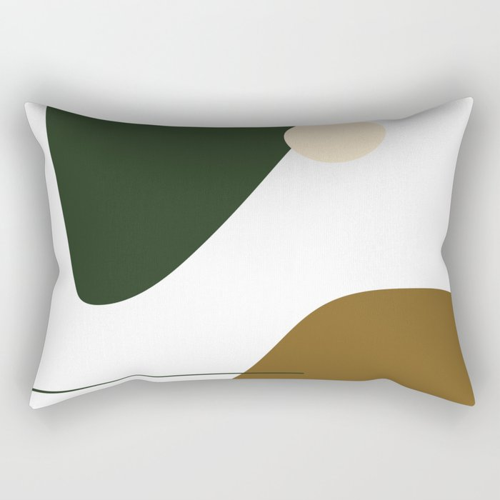 Abstraction 3 Rectangular Pillow
