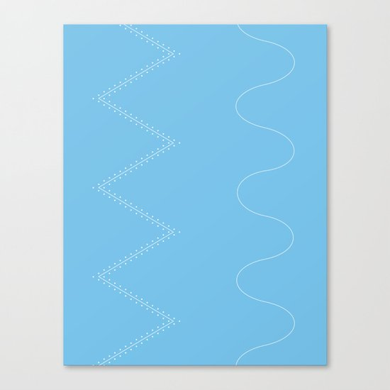 Backcountry Skiing Canvas Print