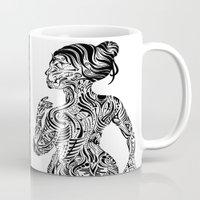 maori Mugs featuring Maori Sides by SarinneG