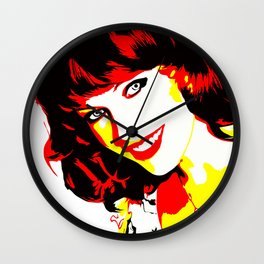 Milla Jovovich - Celebrity - Illustration Art Wall Clock