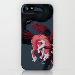 In Love with the Monsters in my Head iPhone Case