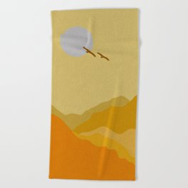 Shades of Desert Beach Towel