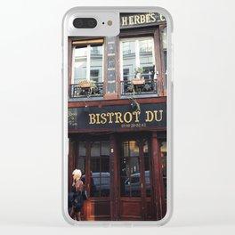 Nancy missing Sid. Paris Clear iPhone Case