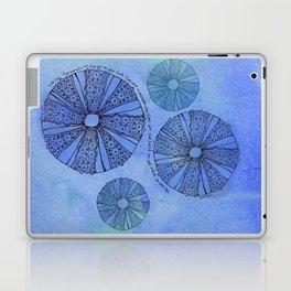 Blue Sea Urchin Laptop & iPad Skin