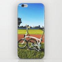 brompton iPhone & iPod Skins featuring Brompton by Juan Lyn