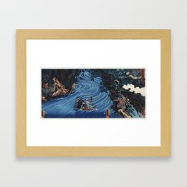 Caoqi River Framed Art Print