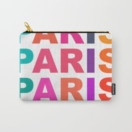 Paris France Carry-All Pouch