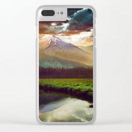 BEAUTIFUL WORLD2 Clear iPhone Case