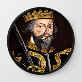 King William I, The Conqueror Wall Clock