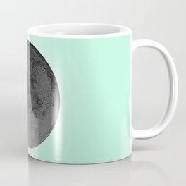 BLACK MOON + TEAL SKY Coffee Mug
