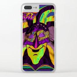 MARDI ARTY Clear iPhone Case