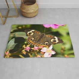 Buckeye Butterfly Rug