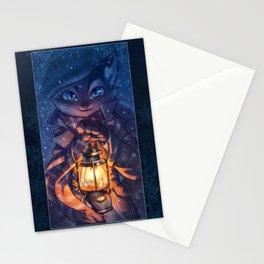 Lamplight Stationery Cards