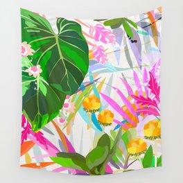 imaginary garden Wall Tapestry