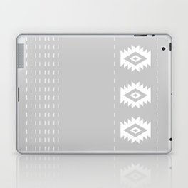 Grey and White Tribal Laptop & iPad Skin
