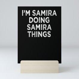 Samira Mini Art Print
